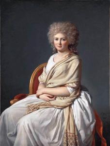 Jacques-Louis David, Anne-Marie-Louise Thélusson, Comtesse de Sorcy, 1790, Oil on Canvas
