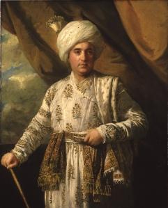 Sir Joshua Reynolds, Captain John Foote, 1761 – 65. Oil on canvas. York Art Gallery Collection.  Image courtesy York Museums Trust (York Art Gallery).